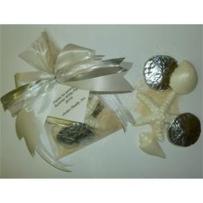 White Party Chocolate Starfish and Shells