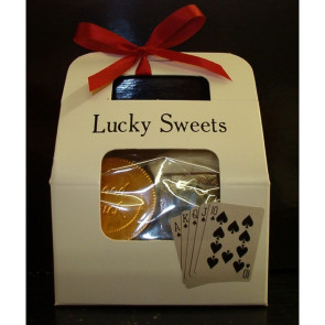 Lucky Sweets Tote- Chocolate Casino Novelties