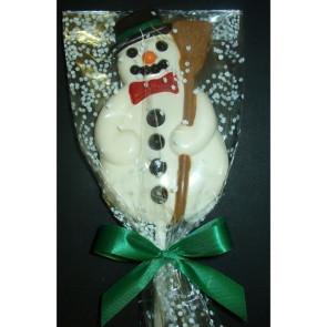 Giant Chocolate Snowman Pop