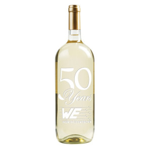 1.5L Magnum Chardonnay White Wine w/1 Color Fill