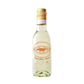 187ml Mini Chardonnay White Wine w/2 Color Fill