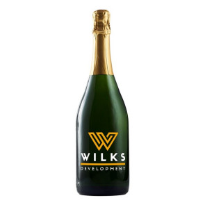 750Ml California Champagne Sparkling Wine w/2 Color Fill