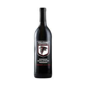 750Ml Cabernet Sauvignon Red Wine Etched with 3 Color Fill