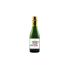 187ml Mini California Champagne (Sparkling White Wine) - w/Custom