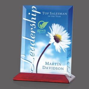 VividPrint Custom Full Color Award - Embassy/Rosewood