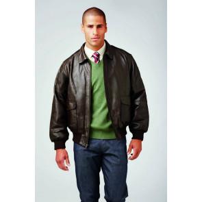 Napa Leather Bomber Jacket for Men