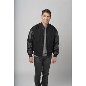Wool and Leather Varsity Jackets - Unisex