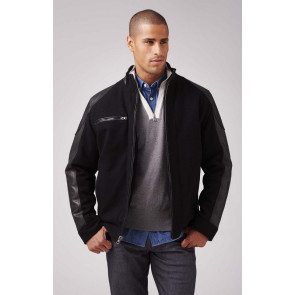 Custom Wool and Leather Driving Jacket