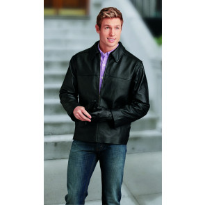 Napa Top Grain Leather Driving Jacket