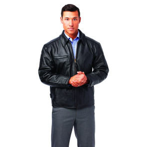 Classic Italian Leather Driving Jacket