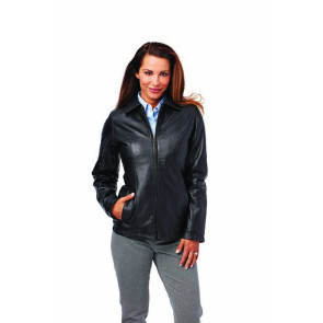 Ladies Lambskin Custom Leather Coat