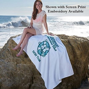 Platinum Collection Beach Towel -Embroidered