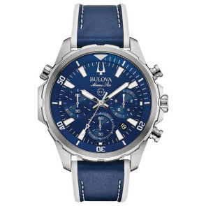 Bulova Watches Mens Sport Strap from the Marine Star Collection