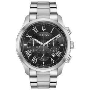 Bulova Watches Mens Wilton Bracelet from the Classic Collection
