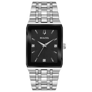 Bulova Watches Mens Quadra Bracelet from the Futuro Collection
