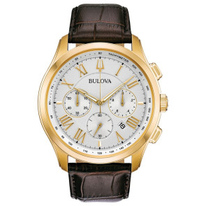 Bulova Watches Mens Wilton Strap from the Classic Collection