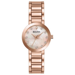 Bulova Watches Ladies Diamond Dial from the Modern Collection