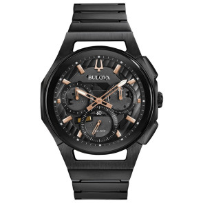 Bulova Watches Mens Progressive Sport Bracelet from the CURV Collection