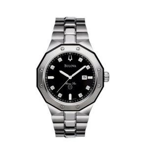 Bulova Watches Mens Diamond Bracelet - Marine Star Company Watch