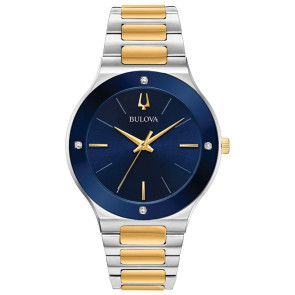 Bulova Watches Mens Millenia Bracelet from the Futuro Collection