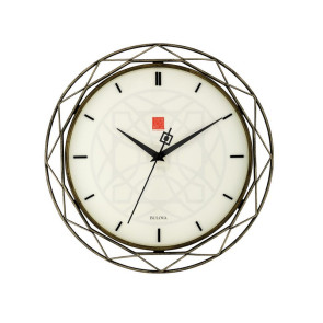 Bulova Clocks Luxfer Prism (Wall)