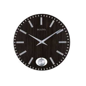 Bulova Clocks Manhattan Wall Clock