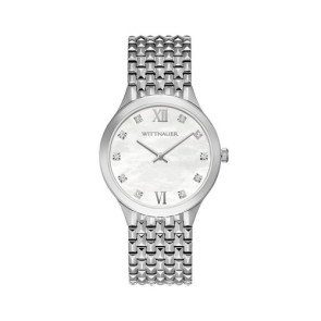 Wittnauer Ladies Silver Bracelet from the Cosmopolitan Collection