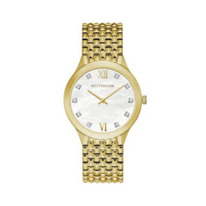 Wittnauer Ladies Gold Bracelet from the Cosmopolitan Collection