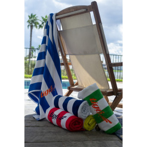 Standard Cabana Beach Towel (Embroidery)