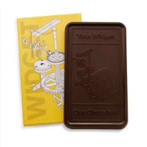 Custom Chocolate Gift Bar - One Pound