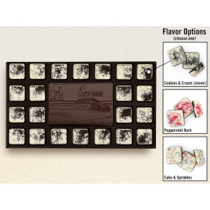 23-Piece Chocolate Assortment with Flavored Borders
