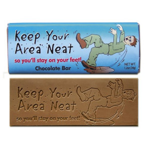 Keep Your Area Neat Wrapper Bars - Stock Design