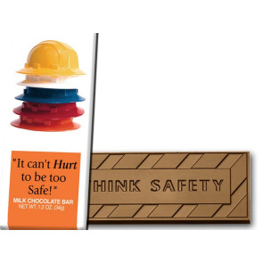 It Can't Hurt to Be Too Safe Wrapper Bars - Stock