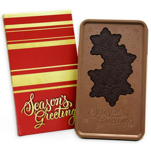 Seasons Greetings/Red & Gold 1lb Combo Bar - Stock