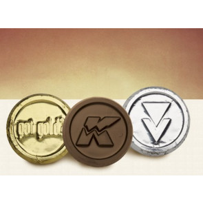 Custom Chocolate Foil Coins