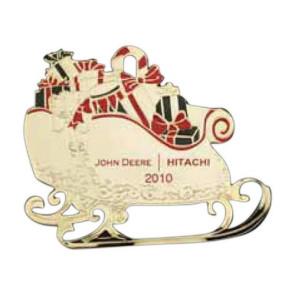 Sleigh Festive Holiday Ornament