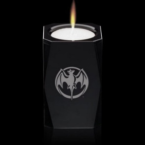 Abbey Candleholder - Black 3-1/8