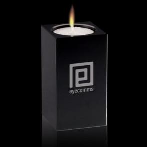Perth Candleholder - Black 3 1/2