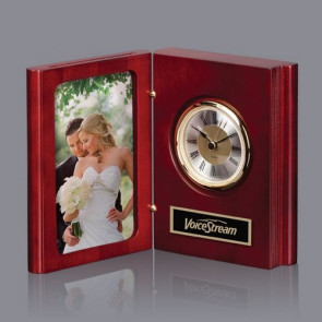 Dorset Clock - Mahogany 5 1/2 in  H