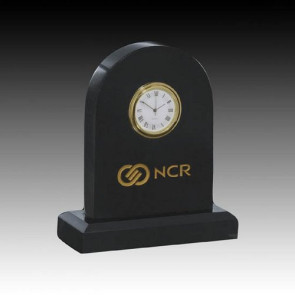 Marble Clock - 5 in. Arch