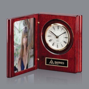 Academy Clock - Rosewood 6 1/2in