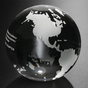 Continental Globe 3-1/8 in. Dia.