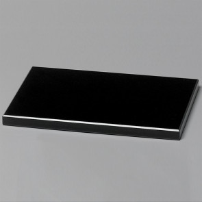 Black Glass Base 6 in.