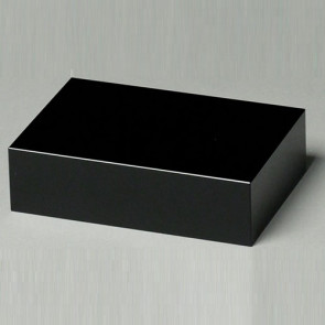Black Glass Base 5-1/2in