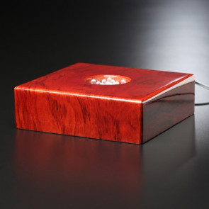 Premium Rosewood Lighted Base 5