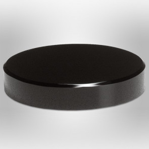 Black Glass Base 5 in. Dia.
