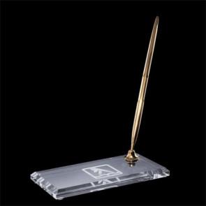 Ashburton Single Pen Set - Gold