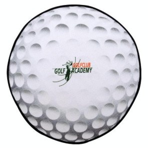 Golf Ball Shaped Sport Towel (Screen Print)