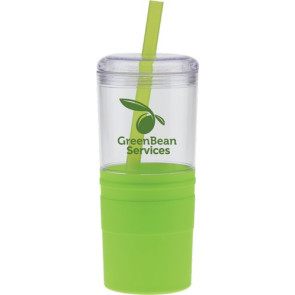 Carousel Collection Tumbler with Straw 21 oz.