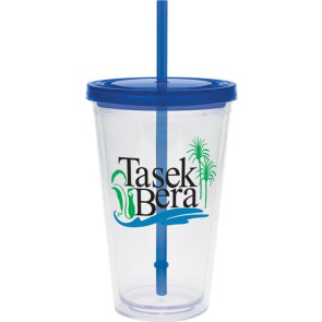 Large Carnival Cup - Color Lid and Straw